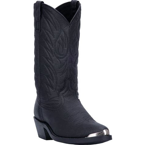 68610 Laredo Men's Western Work Boots - Black